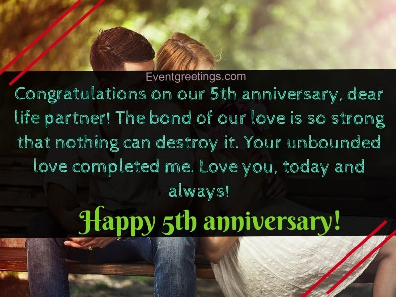 Happy 5 Months Anniversary Quotes Facebook thumbnail