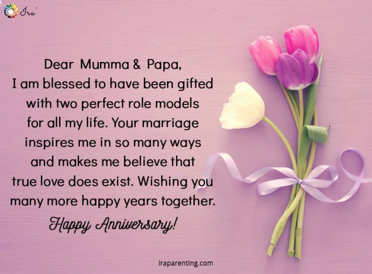 Happy Anniversary Wishes To Mom And Dad thumbnail