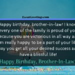 Happy Birthday Brother In Law Pinterest