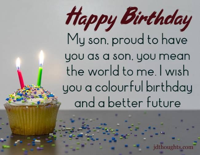 Happy Birthday Dear Son Pinterest thumbnail