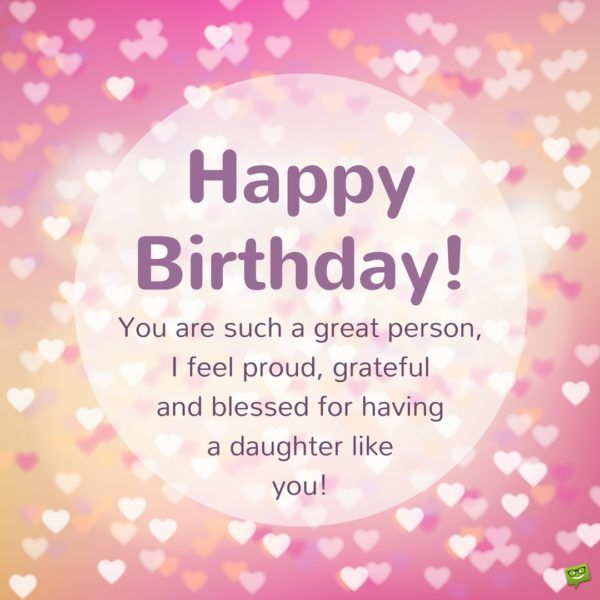 Happy Birthday Message For Daughter thumbnail