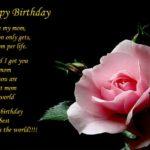 Happy Birthday Mom In Heaven Poem