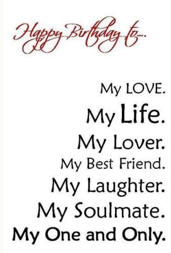 Happy Birthday My Love Quotes Pinterest thumbnail