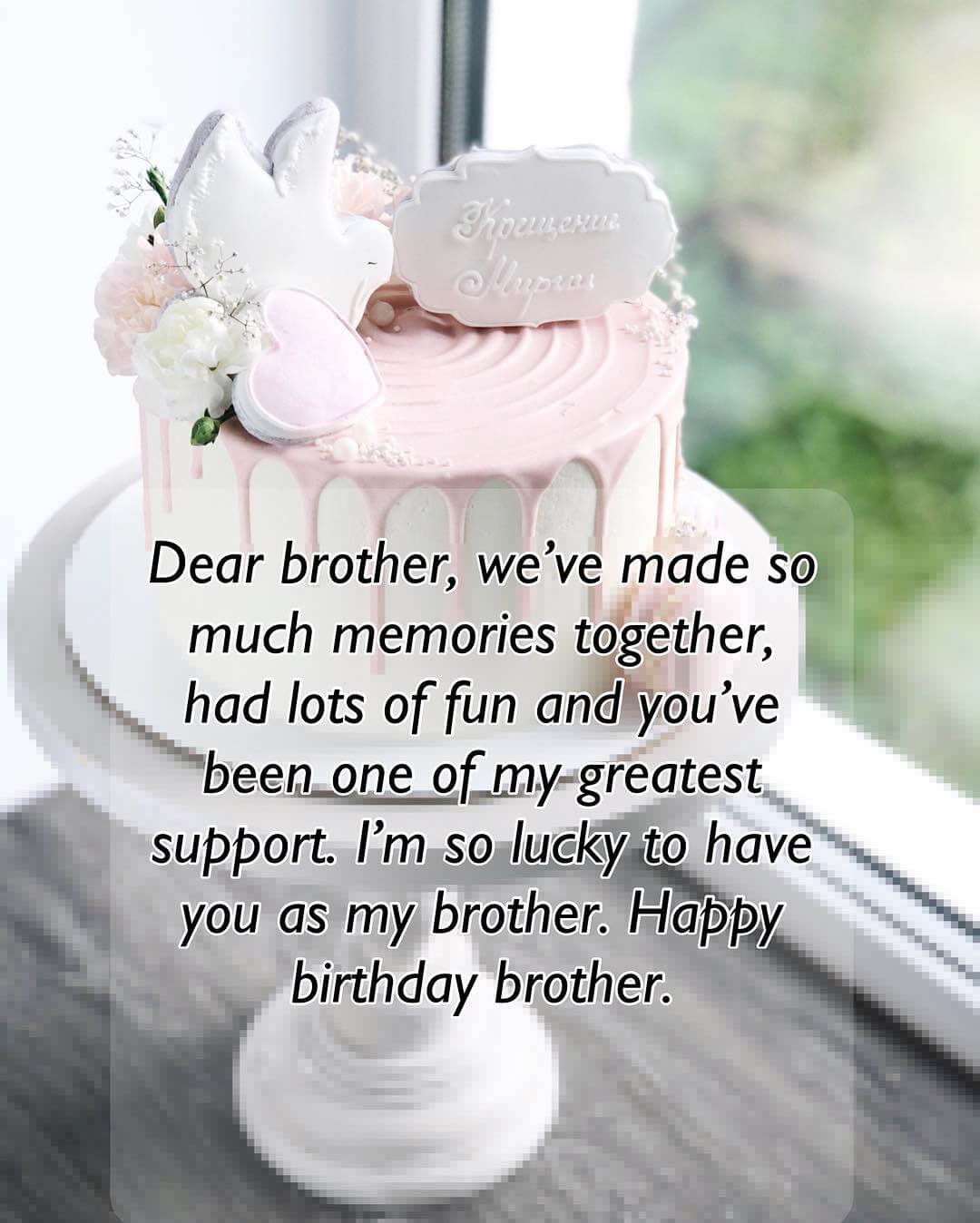 Happy Birthday My Sweet Brother Facebook thumbnail