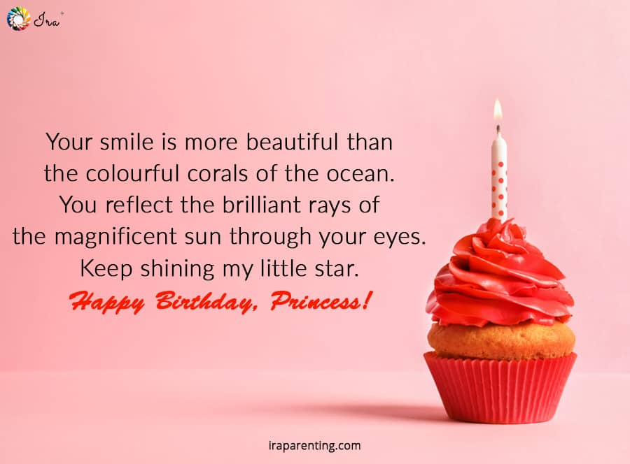 Happy Birthday Princess Quotes Facebook thumbnail