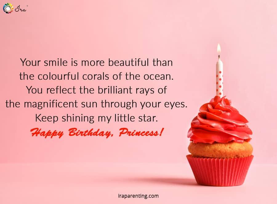 Happy Birthday Princess Quotes Facebook thumbnail