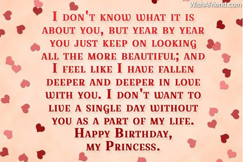 Happy Birthday Quotes For Gf Facebook thumbnail