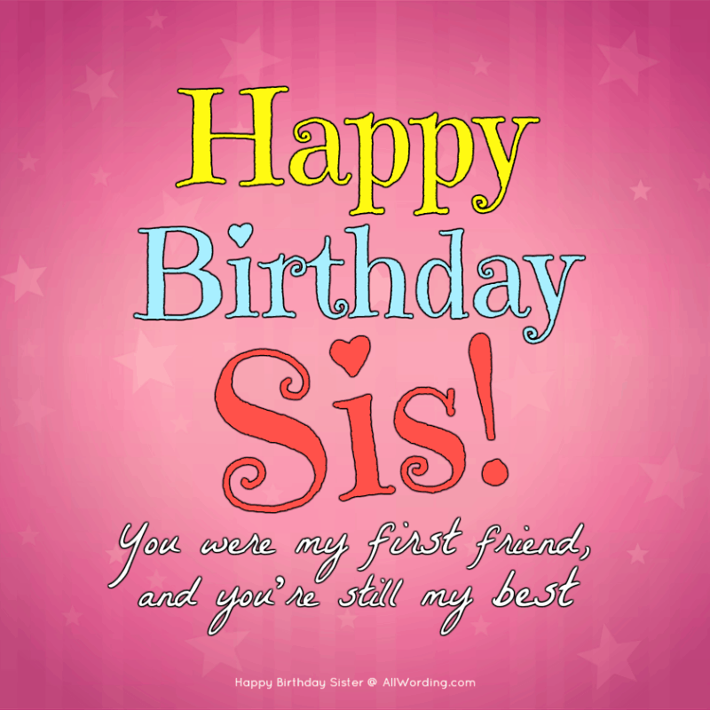 Happy Birthday Sister Images Facebook thumbnail