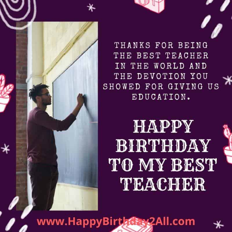 Happy Birthday Teacher Quotes Tumblr thumbnail