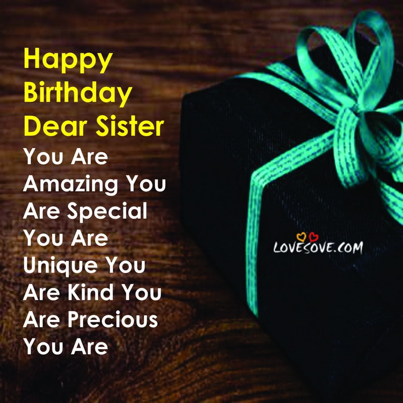 Happy Birthday To Elder Sister thumbnail