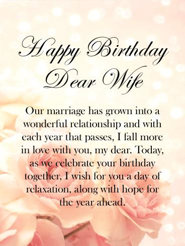 Happy Birthday To My Wife Facebook thumbnail