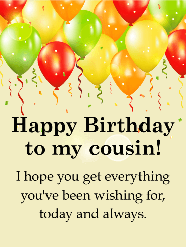 Happy Birthday Wishes For Cousin Facebook thumbnail