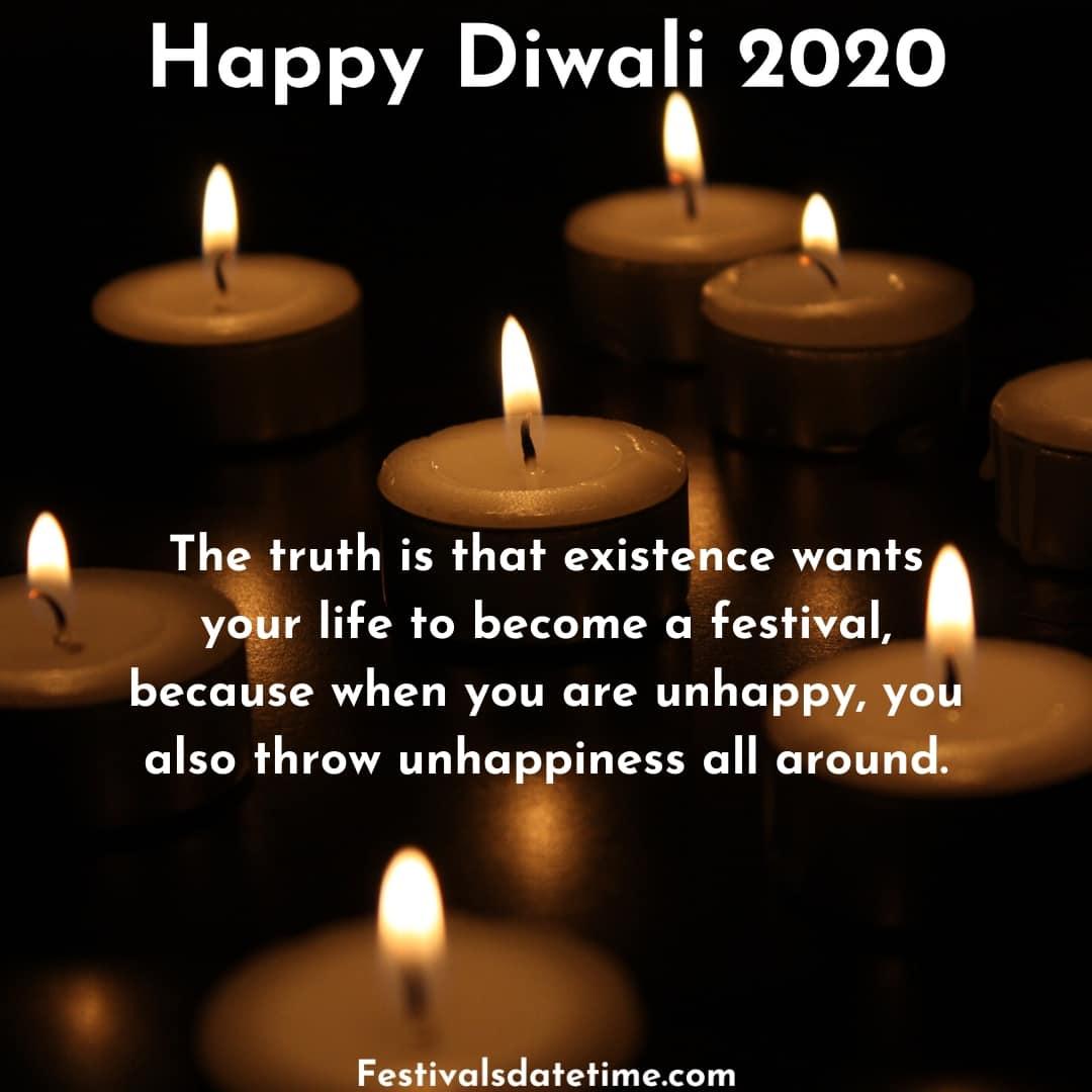 Happy Diwali Quotes 2020 Facebook thumbnail