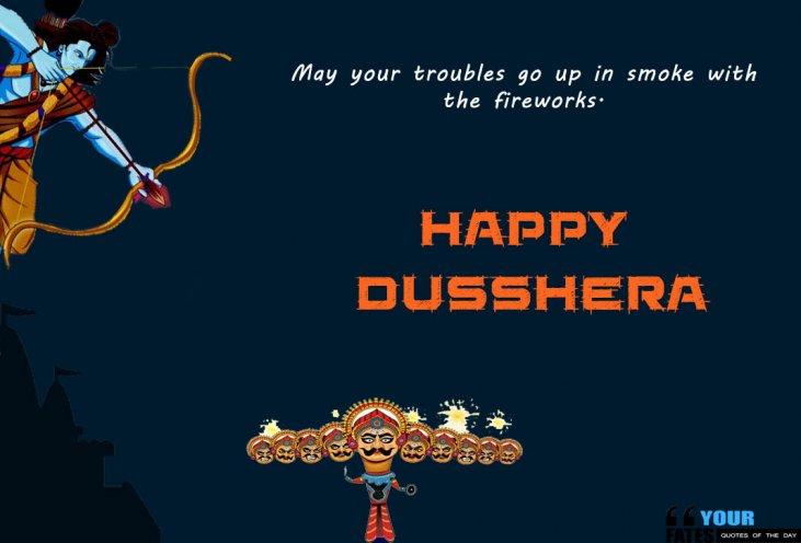 Happy Dussehra 2020 Quotes Pinterest thumbnail