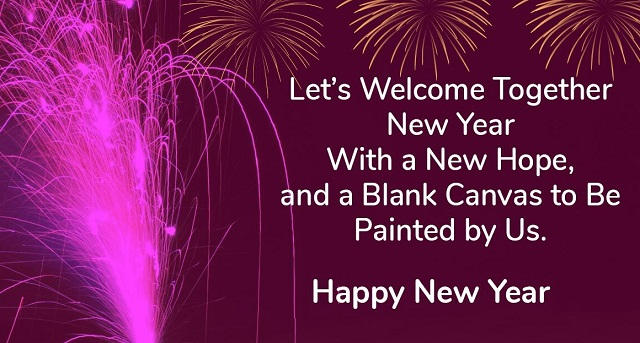 Happy New Year 2022 Wishes To Friends Pinterest thumbnail