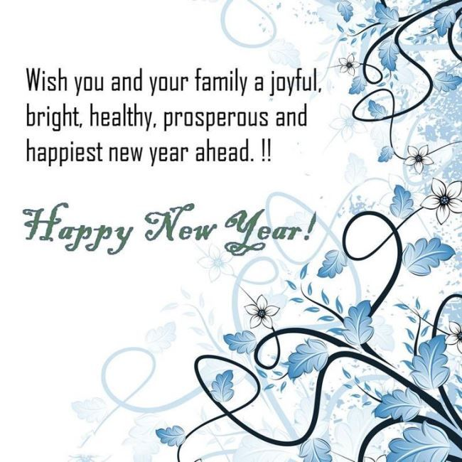 Happy New Year To You And Your Family Quotes Facebook thumbnail