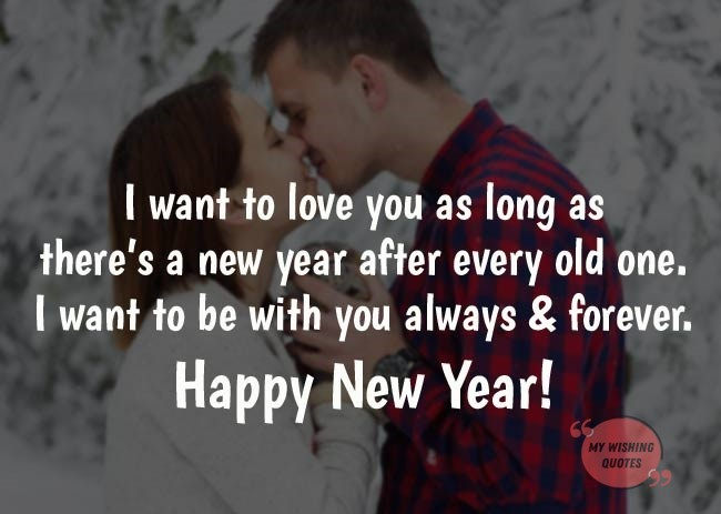 Happy New Year Wishes To My Love Twitter thumbnail