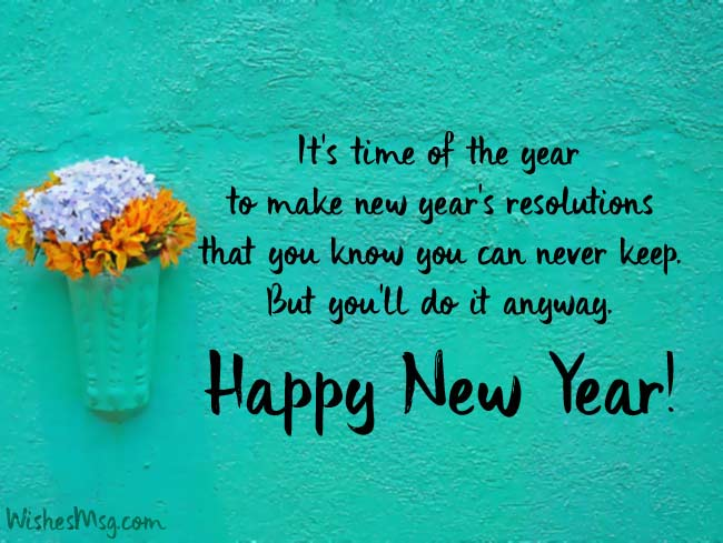 Happy New Year Wishes Words Pinterest thumbnail