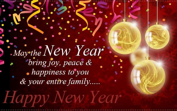 Happy New Year's Wishes Pinterest thumbnail