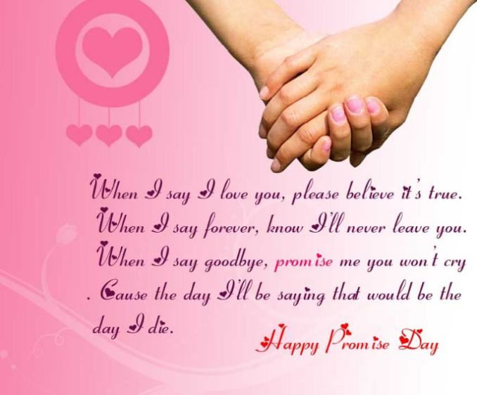 Happy Promise Day Quotes For Girlfriend Twitter thumbnail