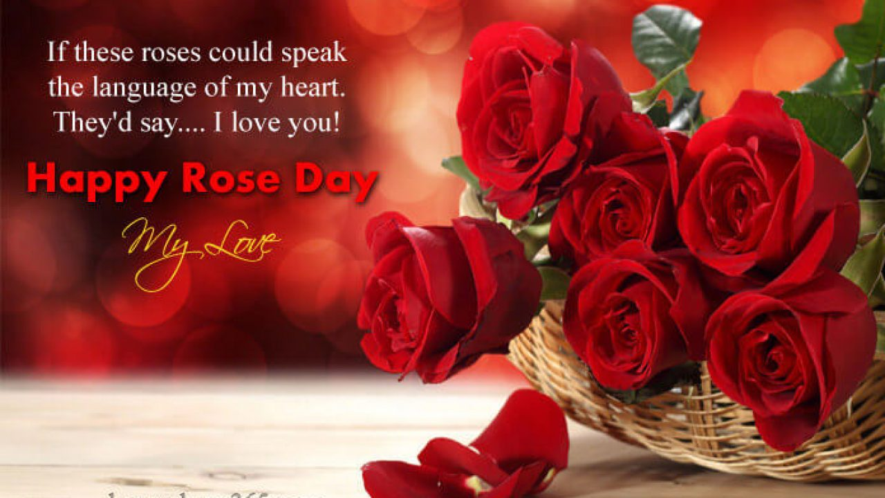 Happy Rose Day To My Love Twitter thumbnail