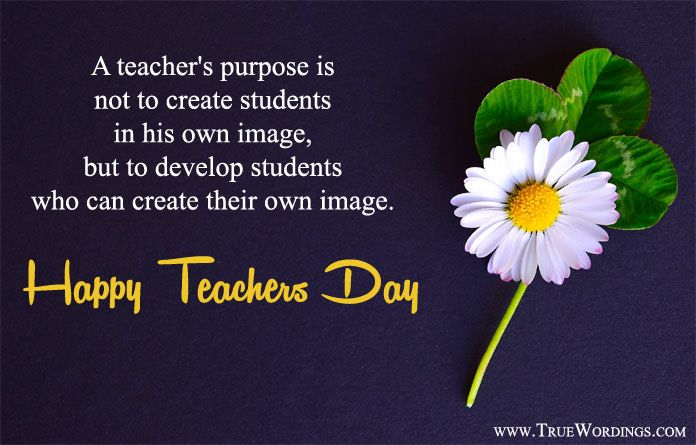 Happy Teachers Day Inspirational Quote Twitter thumbnail