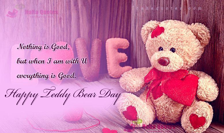 Happy Teddy Bear Day 2022 Pinterest thumbnail
