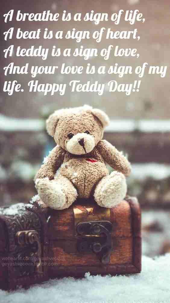 Happy Teddy Day For Boyfriend thumbnail