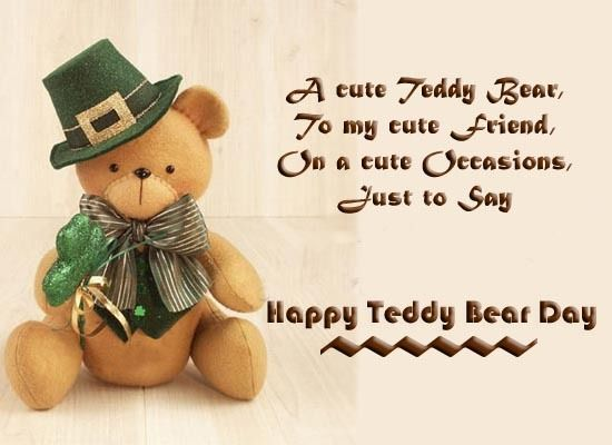 Happy Teddy Day For Friends Tumblr thumbnail