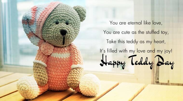 Happy Teddy Status Pinterest thumbnail