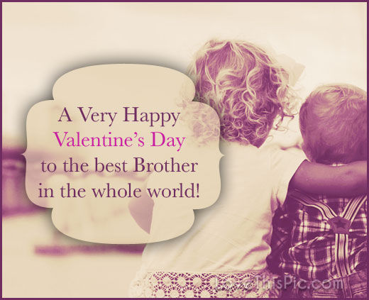 Happy Valentine Day Brother Twitter thumbnail