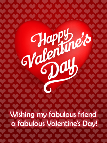 Happy Valentines Best Friend thumbnail