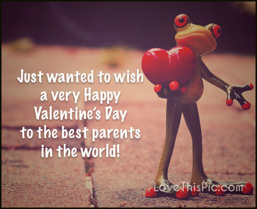 Happy Valentines Day Mom And Dad Quotes Facebook thumbnail
