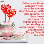 Happy Valentines Day Sweet Friend Facebook