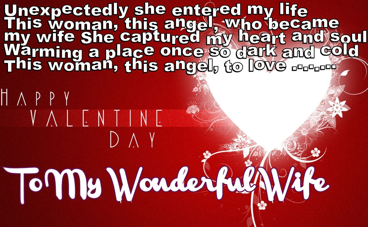 Happy Valentines Day To My Wife Images thumbnail