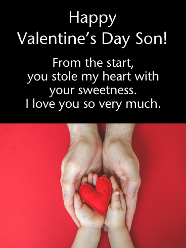 Happy Valentines Son Pinterest thumbnail