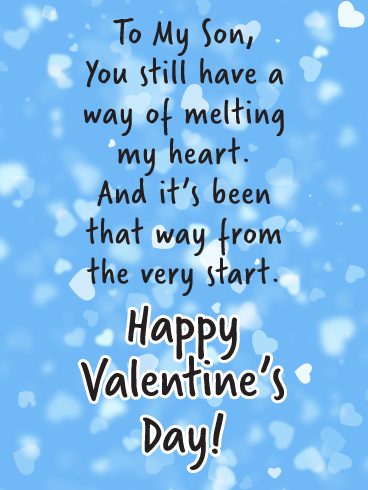 Happy Valentines Son Facebook thumbnail