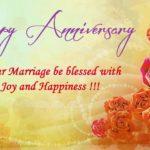 Happy Wedding Anniversary Blessings Facebook
