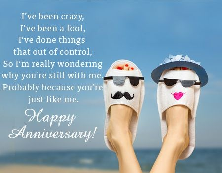 Happy Wedding Anniversary Funny Quotes thumbnail