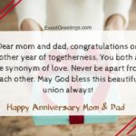 Happy Wedding Anniversary Quotes For Parents
