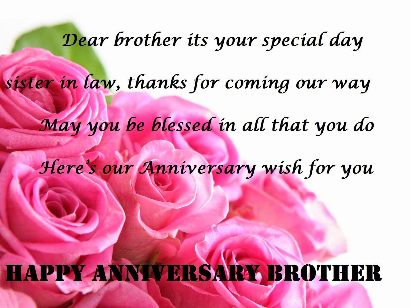 Happy Wedding Anniversary To Brother And Sister In Law Pinterest thumbnail