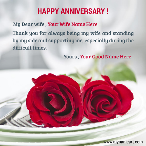 Happy Wedding Anniversary Wishes To Wife Tumblr thumbnail