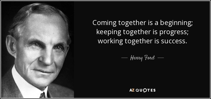 Henry Ford Working Together Success Quote Pinterest thumbnail