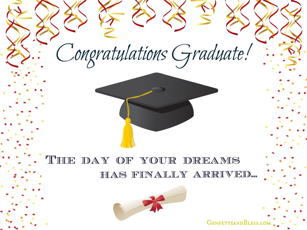 High School Graduation Card Sayings Twitter thumbnail