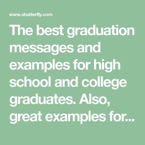 High School Graduation Messages From Parents thumbnail