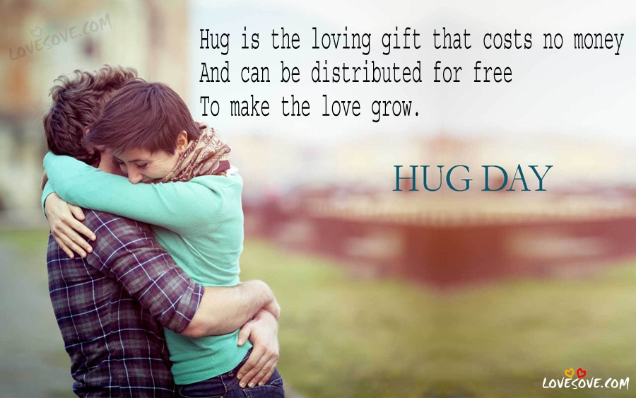Hug Day Quotes For Boyfriend Facebook thumbnail