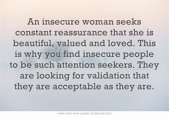 Insecure Women Quotes Facebook thumbnail