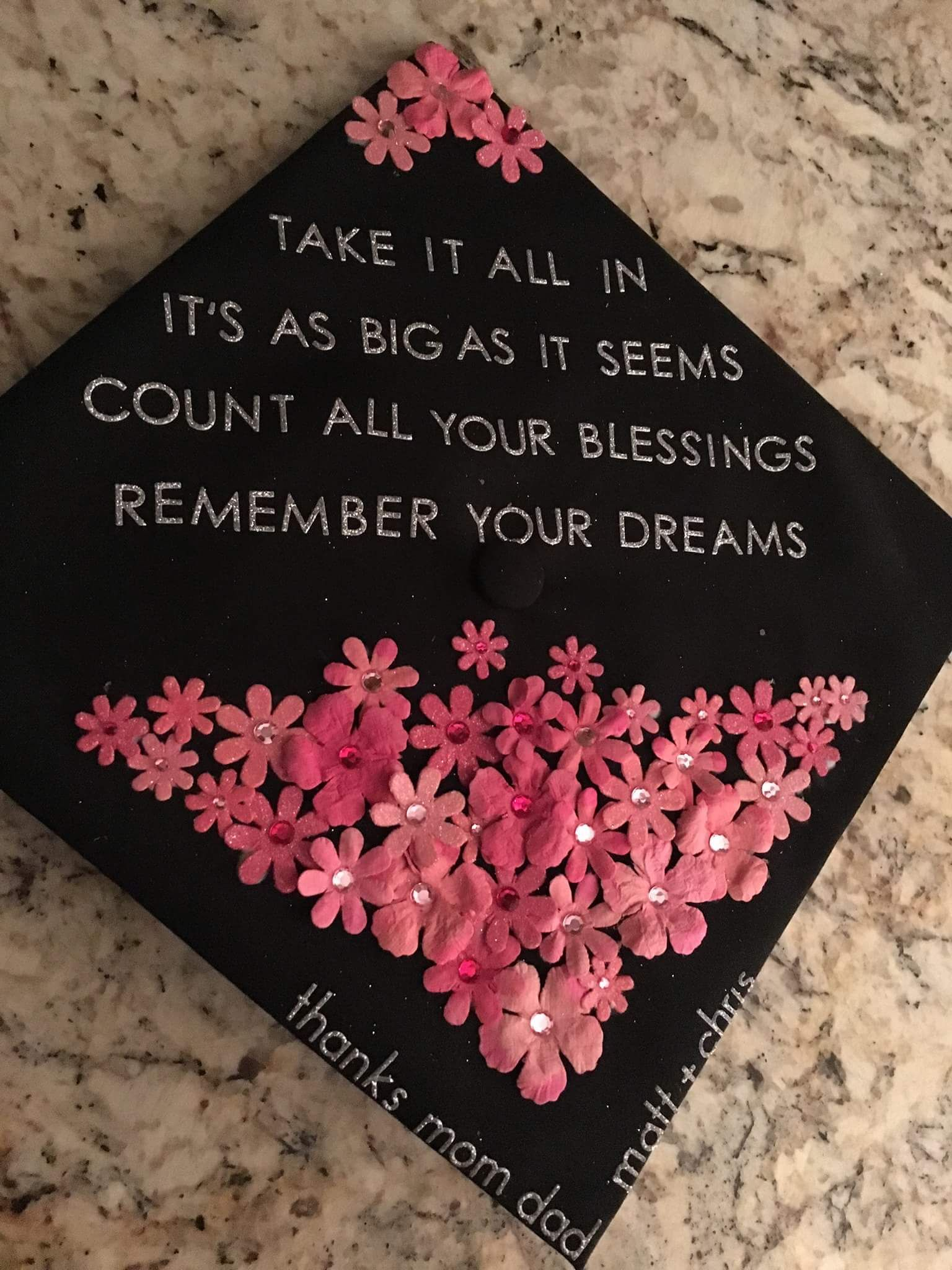 Inspirational Graduation Cap Quotes Twitter thumbnail