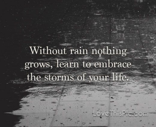 Inspirational Quotes Rain Pinterest thumbnail