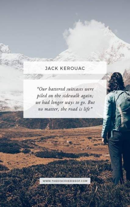 Jack Kerouac Travel Quotes thumbnail